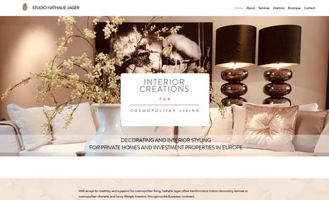Studio Nathalie Jager Updating and optimalization of website, mobile upd...