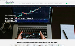 The Daily Movers Platform built for day-traders