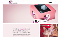 Piggys Baby Cakes An elegant bakers site, illustrating the beauty of...