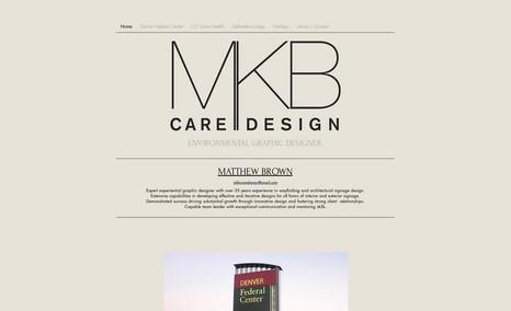 MKB Designs A portfolio website showcasing graphic design work...