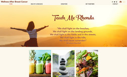 Teach Me Rhonda This is a health and wellness blog to help people ...
