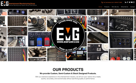 Entertainment Manufacturing Site An advanced technology site developed for a Manufa...