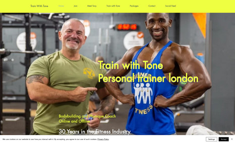 TrainwithTone Created for a family member who has decided to mov...