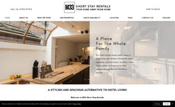 m33-rentals Short stay property rental website.