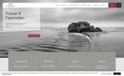 Trauer & Festreden Lutz Saalmann Webdesign für einen Trauer- & Festredner