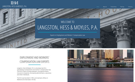 Langston, Hess & Moyles A boutique law firm, specializing in employment an...