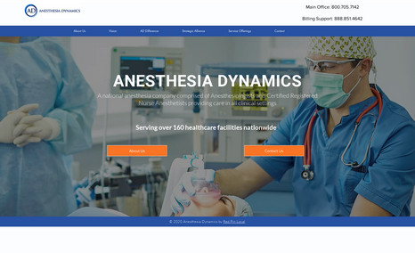 Anesthesia Dynamics A national anesthesia company comprised of Anesthe...