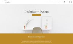 Tailor My Space Brand development & website design
