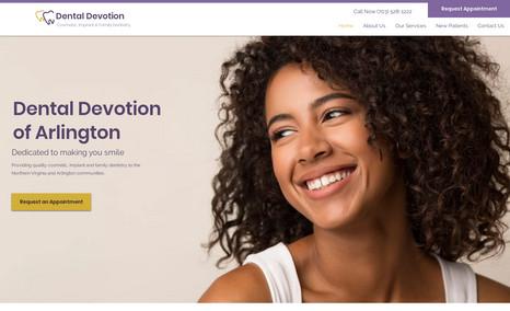 Dental Devotion A modern redesign for a top notch dental office in...