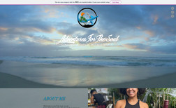 Adventures For The Soul Clean, Modern, and Easy to navigate website for th...