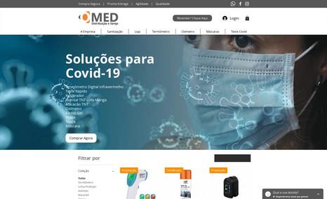 Omed Distribuição e Varejo Criação de Branding, portal de ecommerce, conectiv...