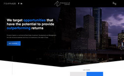 Pinnacle Capital Website Design, Branding design || Target opportun...