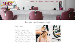 Miracles behind the scene A Chicago based private hair salon with another ba...