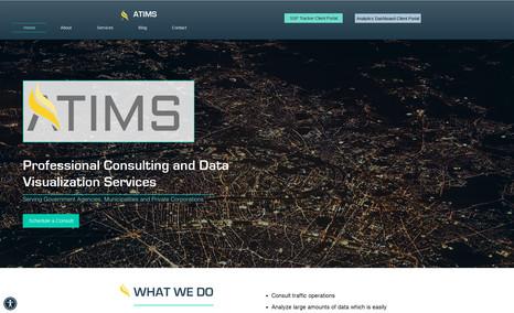 ATIMS Consultants - website redesign, training