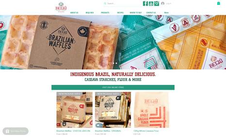 Beiju Foods Site e SEO Completo