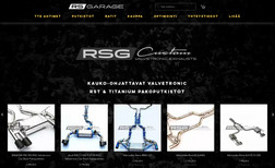 RS Garage RS Garage is a company that manufactures exclusive...