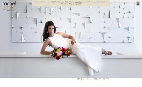 Rachel Leintz Wedding Photography Award winning wedding photographer. We revamped he...