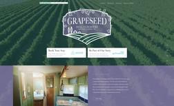 Grapeseed Branding, Web Design, Hospitality Tools