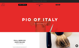 Pio of Italy Salon This fresh design is a service in itself. ✂️