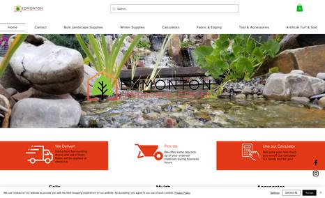 edmontonlandscape eCommerce Site