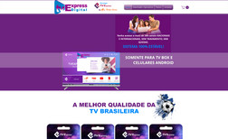 Tv Express Digital - Logotipo - Site - SEO