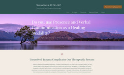 Marcus Kurek - Trauma-Informed Physical Therapist and Psychotherapist Calming, relaxing, professional and beautiful - th...