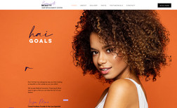 Exquisite Beauty Fresh & modern salon site