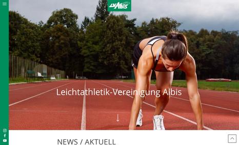 lvalbis Neukonzeption der Website für die Leichtathletik-V...
