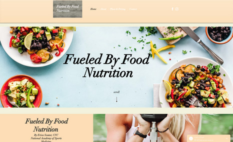 Fueled By Food Nutrition