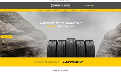 Istmo Llantas Tienda Online Panama