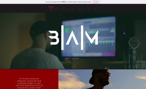 Brenden Adams Music BAM is a music production company for up-and-comin...