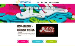 UPlastic Site institucional de indústria de objetos de plás...