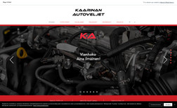 Kaarinan Autoveljet We made a website for a local car service company....