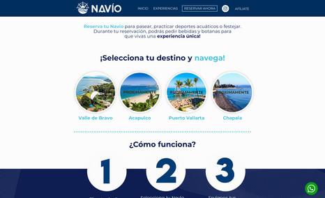 Navío MX Yatch Tours Web