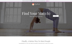 YogaMatch A concept website for an app that matches between ...