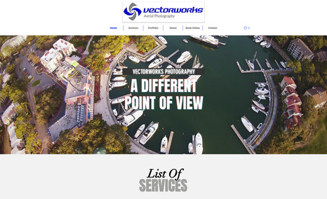 Aerial Photography Website