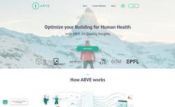 Arve Air Webdesign für ein Hotelier