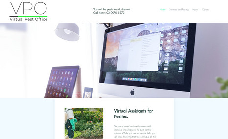 Virtual Pest Office A clean website and easy to navigate website. I al...