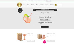 Copper Bucker Copper Products E-Commerce