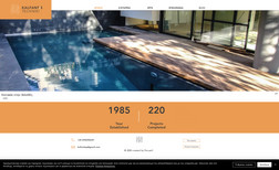 Kalfantis Techniki A straight and clean looking website for a technic...