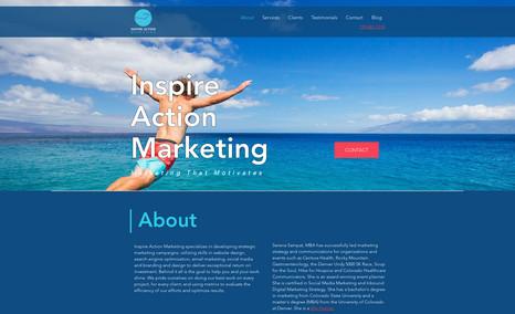 Inspire Action Marketing Website Design & SEO