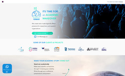 Academy Forward Website for a services company providing services ...
