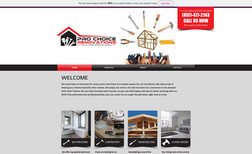 Pro Choice Renovations Classic Website for home improvement industry prof...