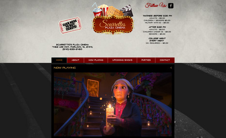 SCARRETTE'S PLAZA CINEMA Our theater located in Fairlawn Shopping Plaza was...