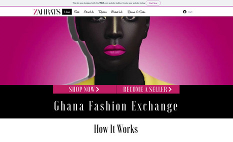 zahrats An online women's fashion exchange in Ghana that u...