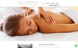 bellaverissima Site para clínica de estética com público refinado...