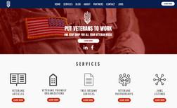 Put Veterans To Work Website dedicated to helping veterans.