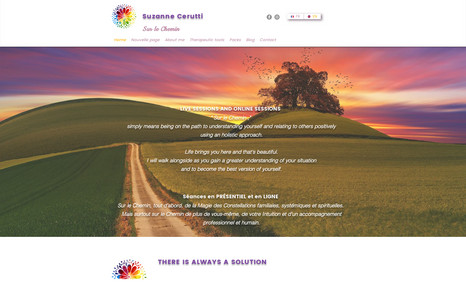 Suzanne Cerutti Constellations Site de Coaching avec Wix Booking pour prise de re...