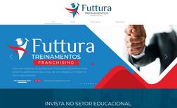 Futtura Treinamentos Franchising Site de escola de cursos livres com cursos presenc...