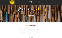 Etched & Inked Etched & Inked is a small company that provides un...